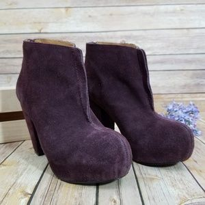 Anthro Kelsi Dagger 8 Mclaine Boots Booties